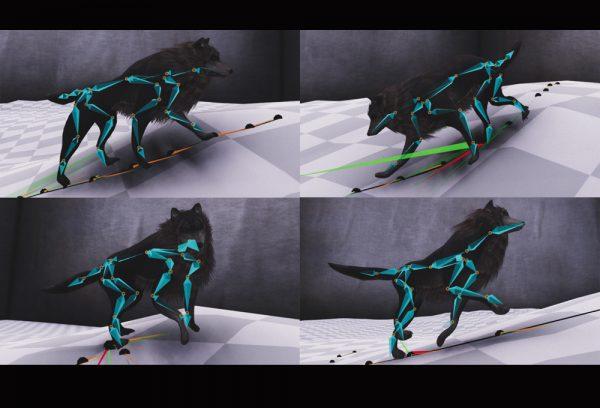 CGへの扉 Vol.2:なめらかなキャラクタアニメーションと、ディープラーニングの役目