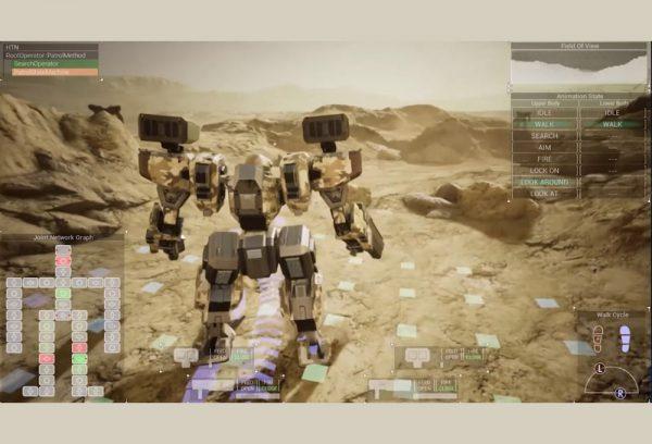 【GDC 2021】自分の判断で威力偵察や稜線射撃ができるゲームAI